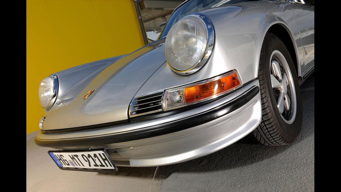 Porsche 911 S Targa, Frontscheinwerfer