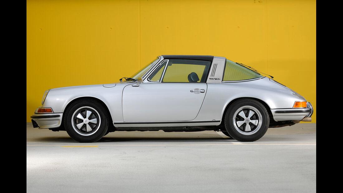 Porsche 911 S Targa, Seitenansicht