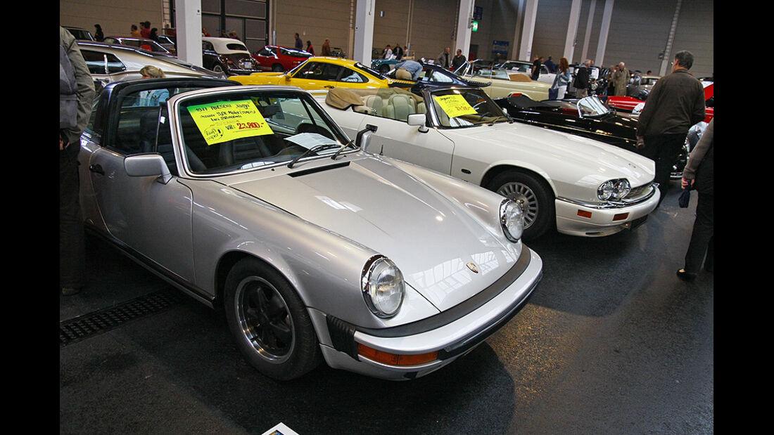 Porsche Targa und Jaguar XJS