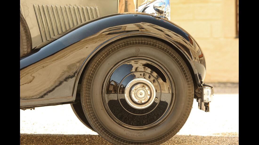 Rolls-Royce Phantom I Shooting Brake (Chassis von 1928), Lenkrad