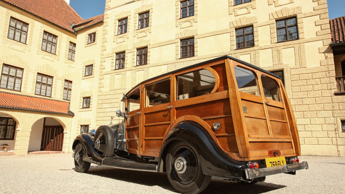 Rolls-Royce Phantom I Shooting Brake (Chassis von 1928), Motor