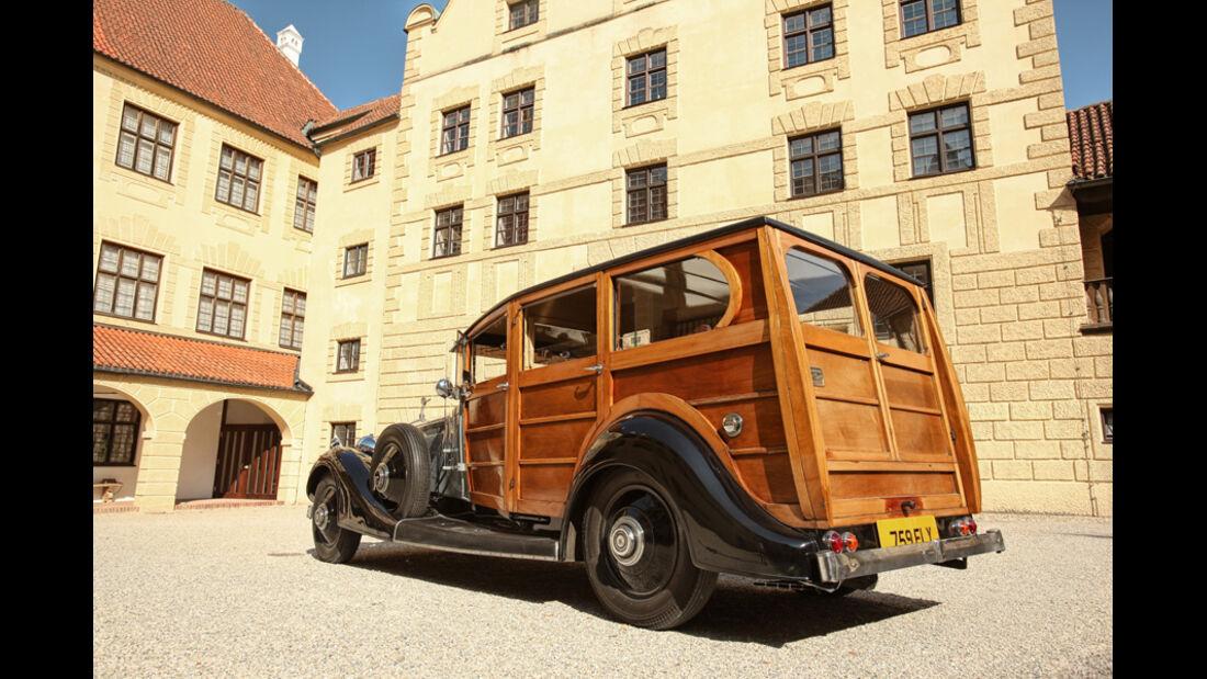 Rolls-Royce Phantom I Shooting Brake (Chassis von 1928), Motor