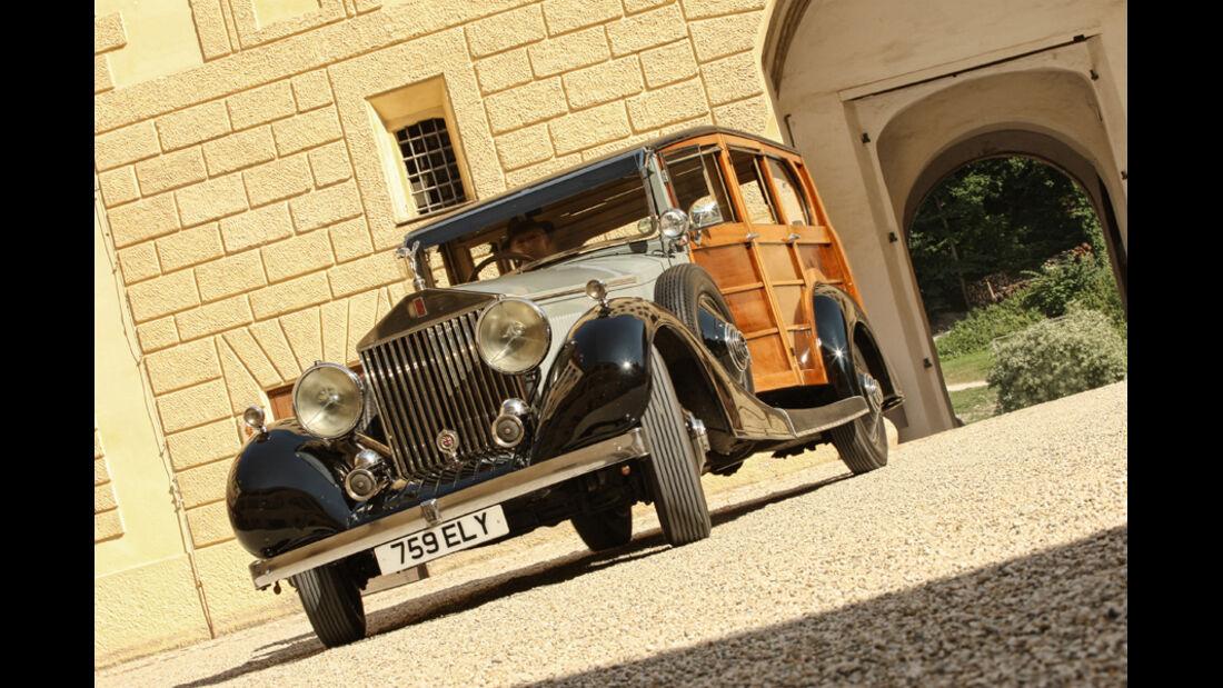 Rolls-Royce Phantom I Shooting Brake (Chassis von 1928), Rad