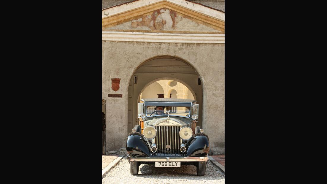 Rolls-Royce Phantom I Shooting Brake (Chassis von 1928), Sitz