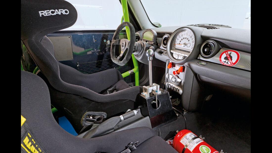 Schäfer Mini Cooper CLS, Cockpit