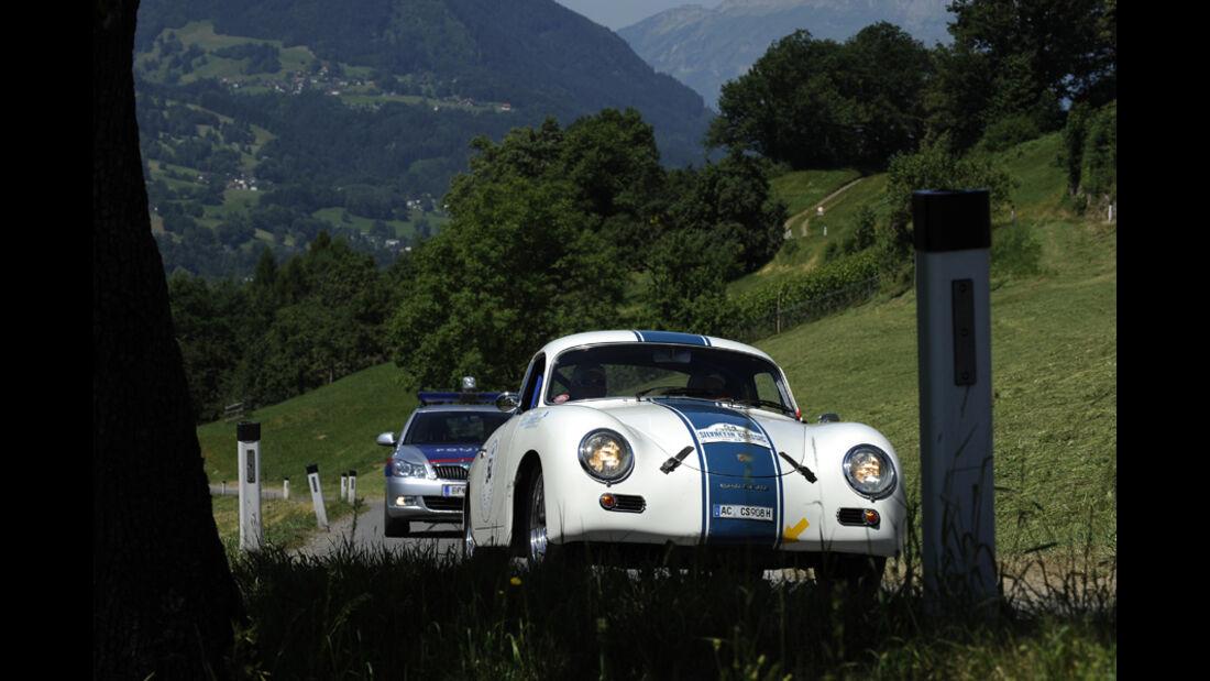 Silvretta Classic 2010 - Tag 1 Impressionen - Porsche 356