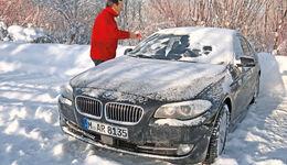 Standheizungen, Winter, Schnee