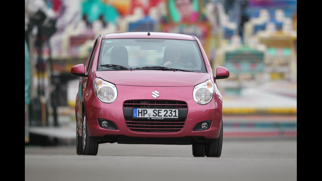 Suzuki Alto 1.0 Club, Frontansicht, Fahrt
