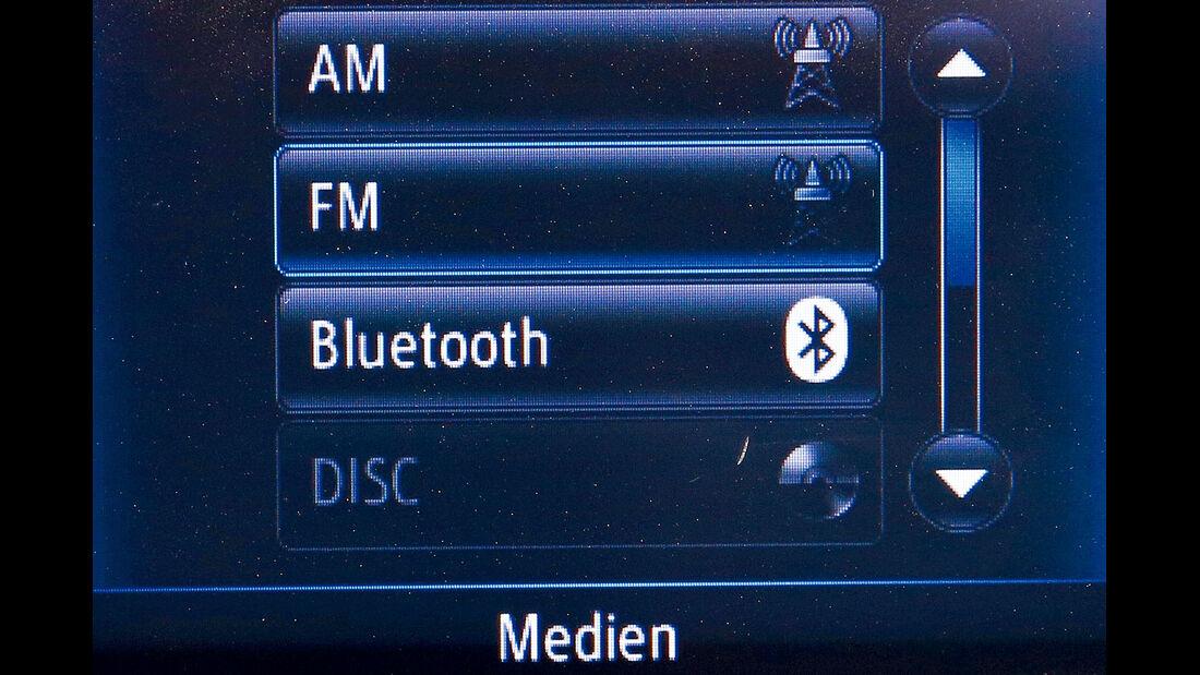 Toyota Auris, Audio