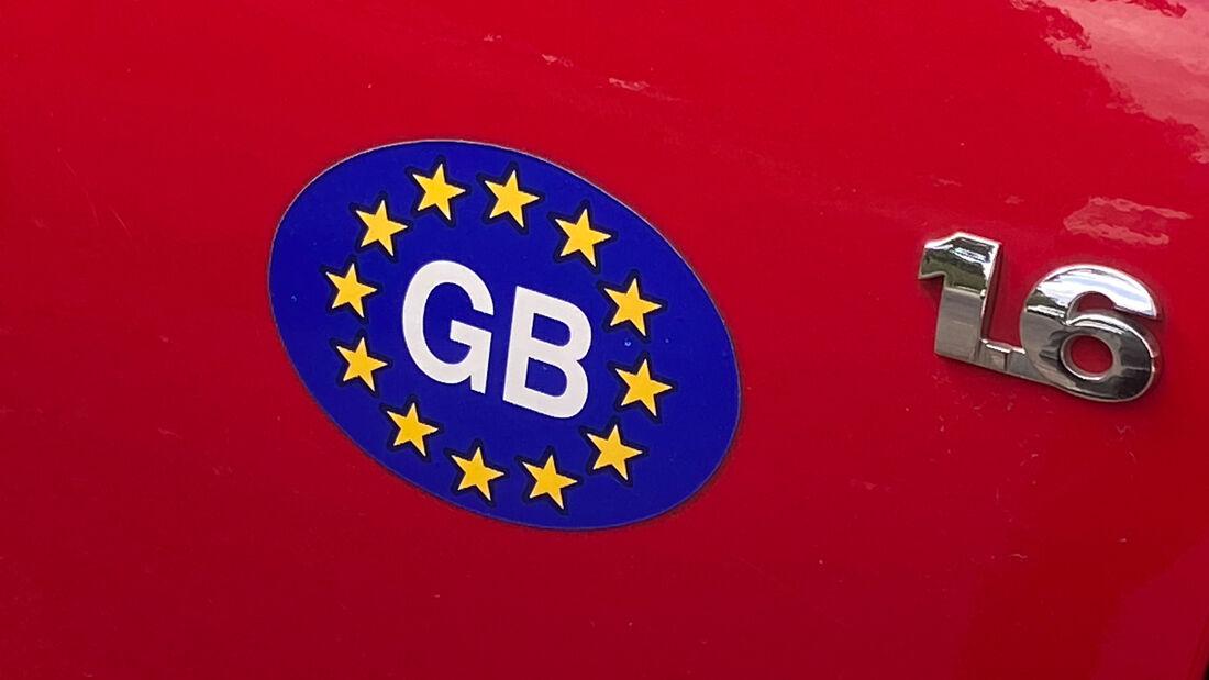 «UK» statt «GB» auf britischen Autos