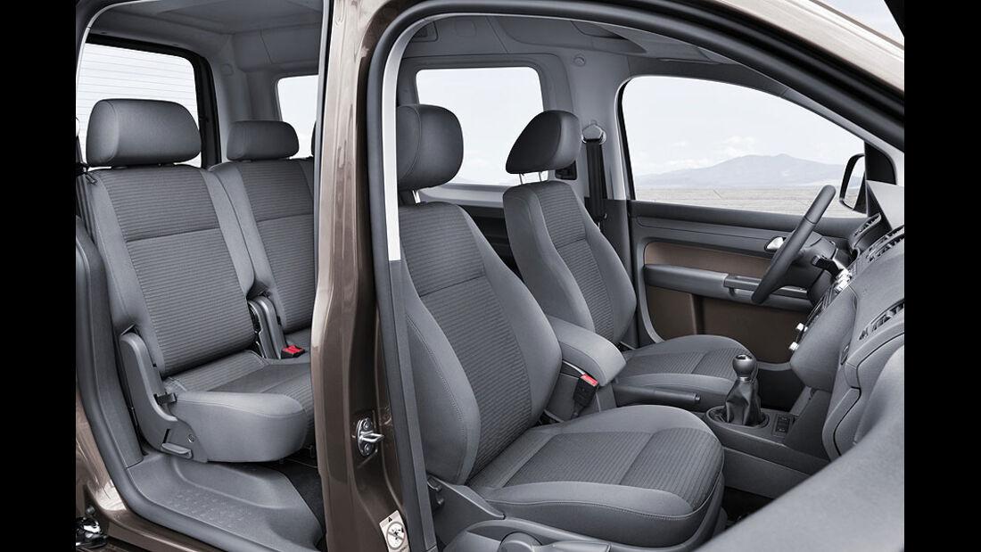 VW Caddy 1.6 TDI, Innenraum