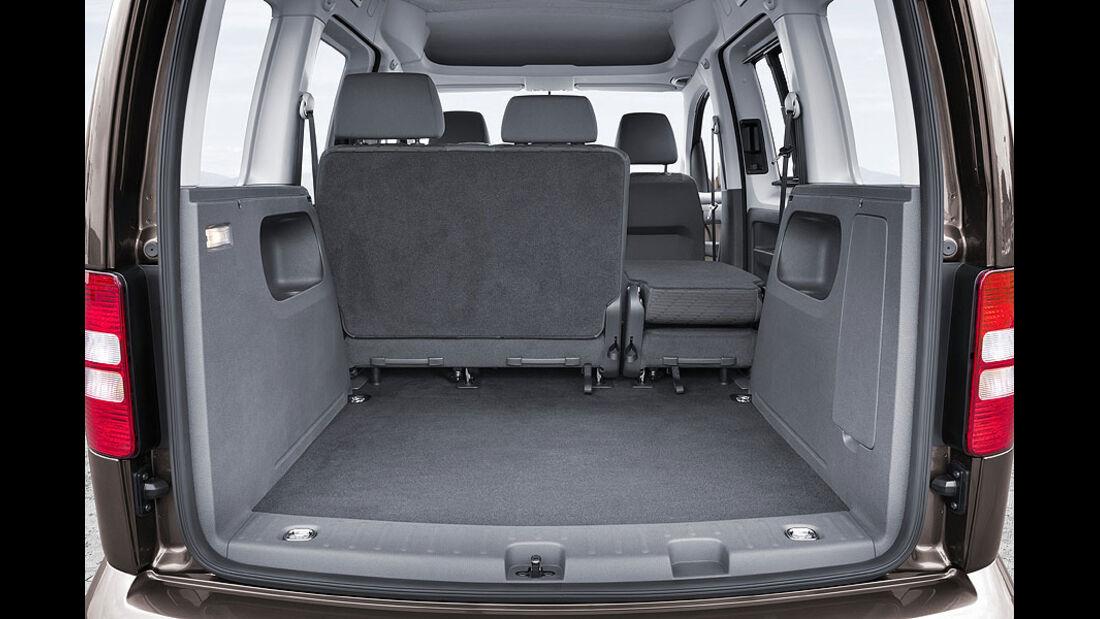 VW Caddy 1.6 TDI, Kofferraum