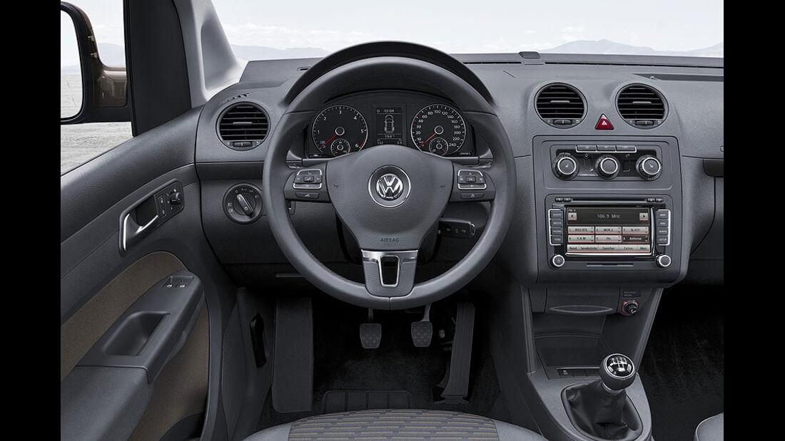 VW Caddy 1.6 TDI, Lenkrad