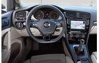 VW Golf, Lenkrad, Cockpit
