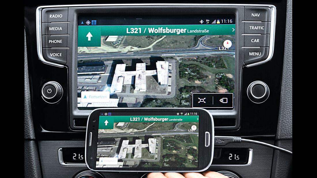 VW Golf, Mirror-Link
