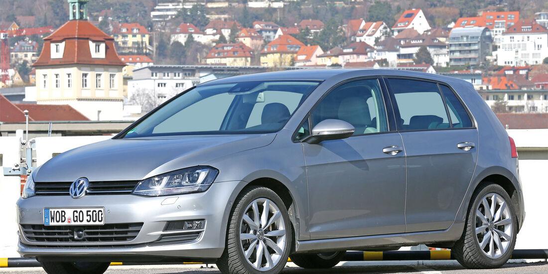VW Golf, Seitenansicht