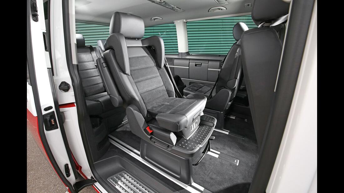 VW Multivan, Bestuhlung