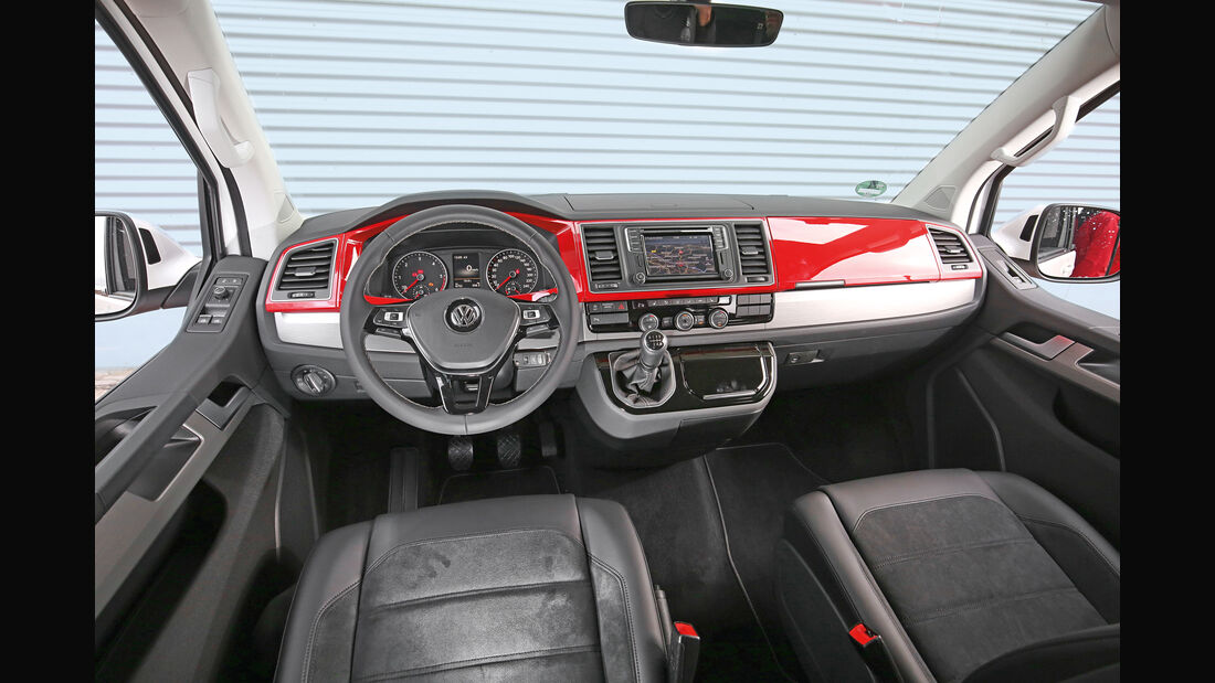 VW Multivan, Cockpit
