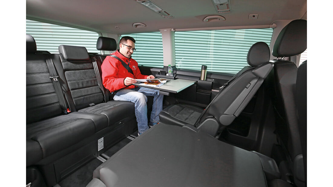 VW Multivan, Fondsitze