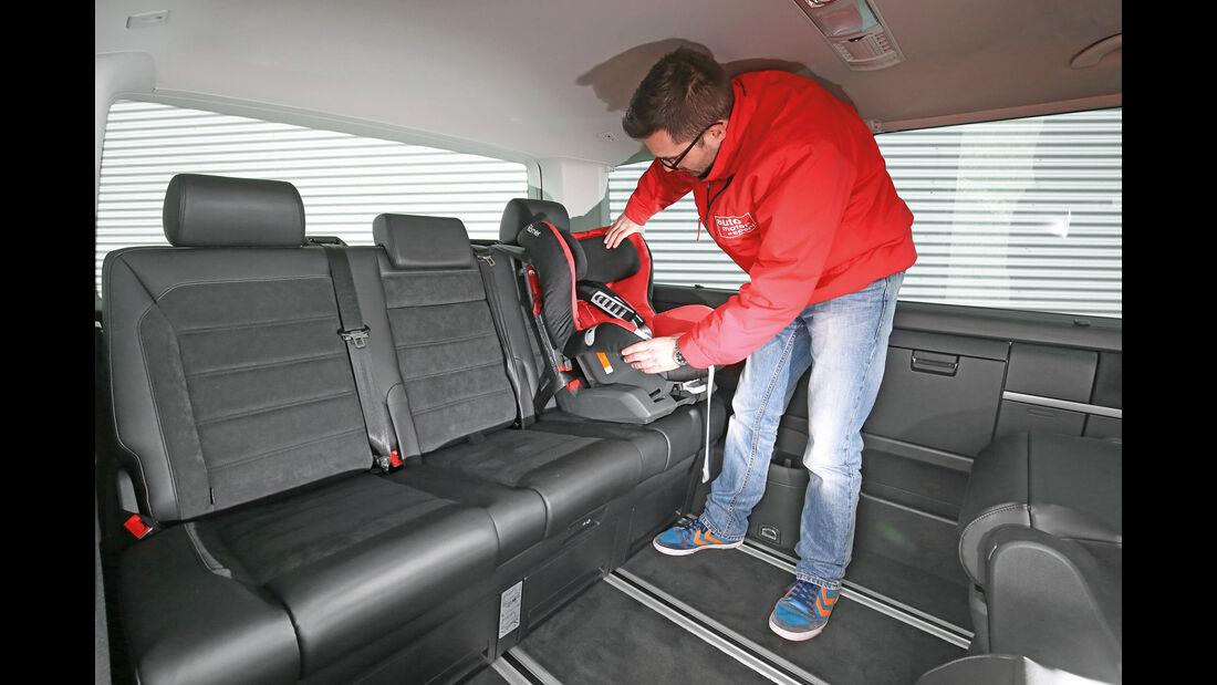 VW Multivan, Isofix