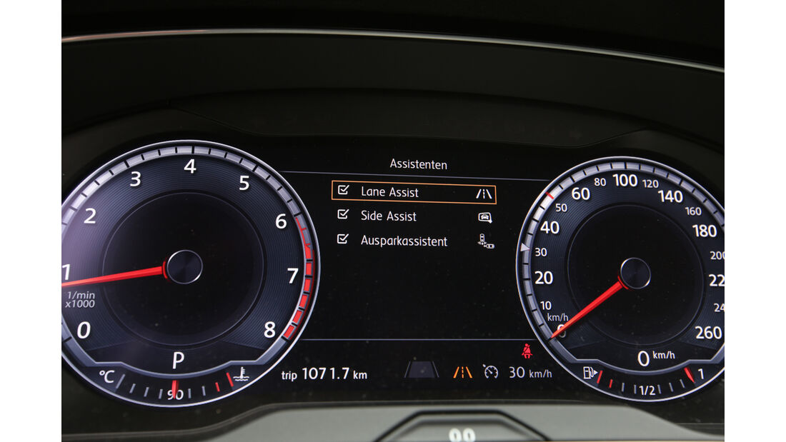 VW Passat Variant 2.0 TSI, Cockpit