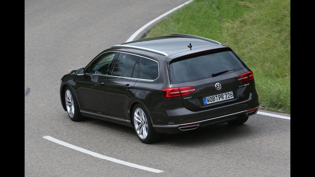 VW Passat Variant 2.0 TSI, Draufsicht