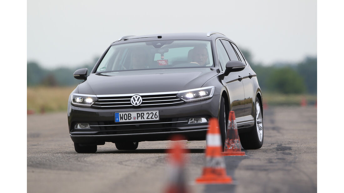 VW Passat Variant 2.0 TSI, Frontansicht