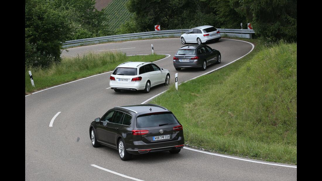 VW Passat Variant 2.0 TSI, Frontscheinwerfer