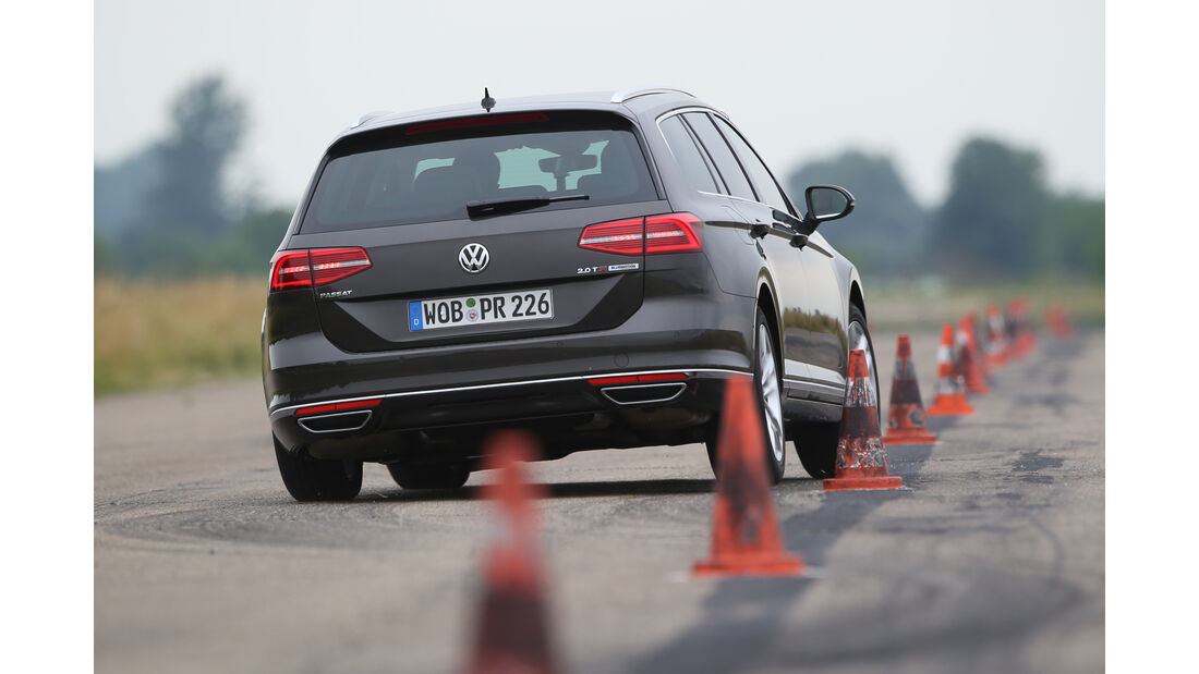 VW Passat Variant 2.0 TSI, Heckansicht