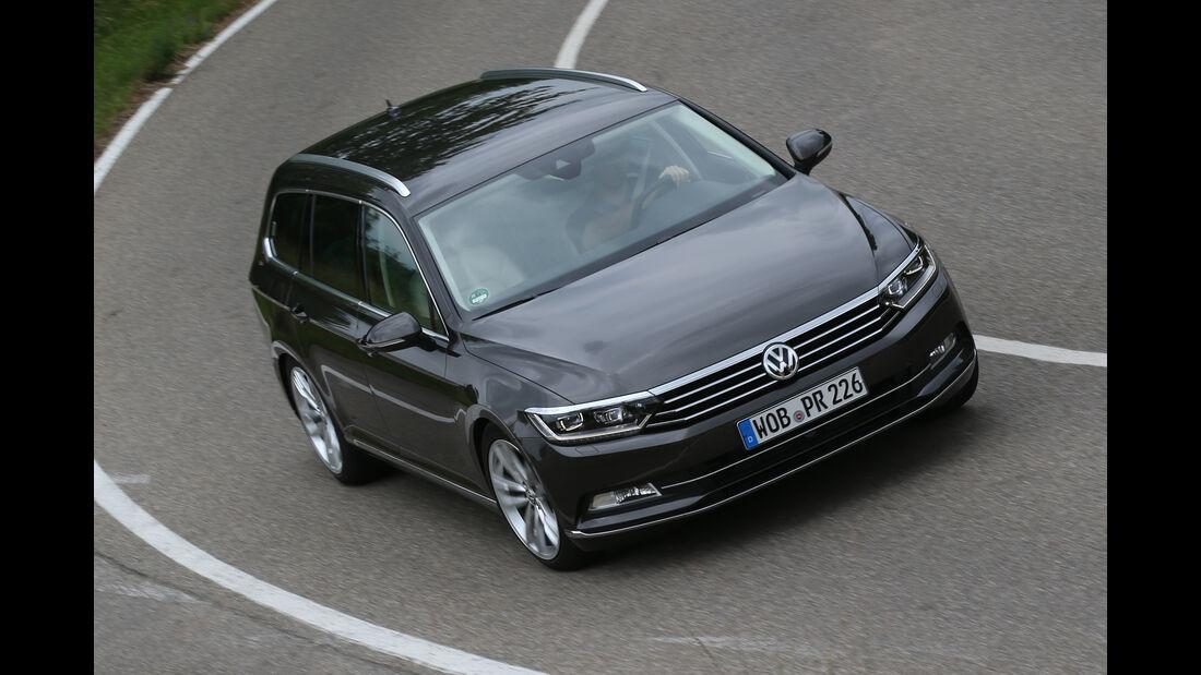 VW Passat Variant 2.0 TSI, Seitenansicht