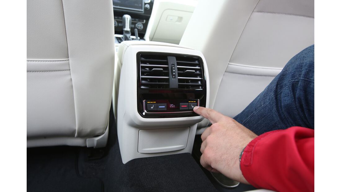 VW Passat Variant 2.0 TSI, Sitzverstellung