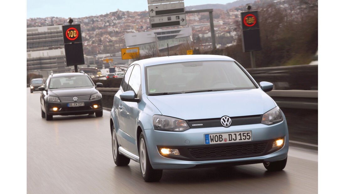 VW Polo Blue Motion, Frontansicht