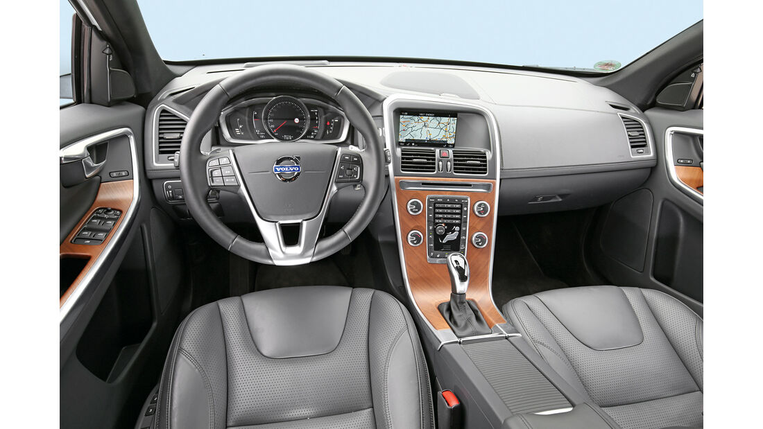 Volvo XC60 D5 AWD, Cockpit