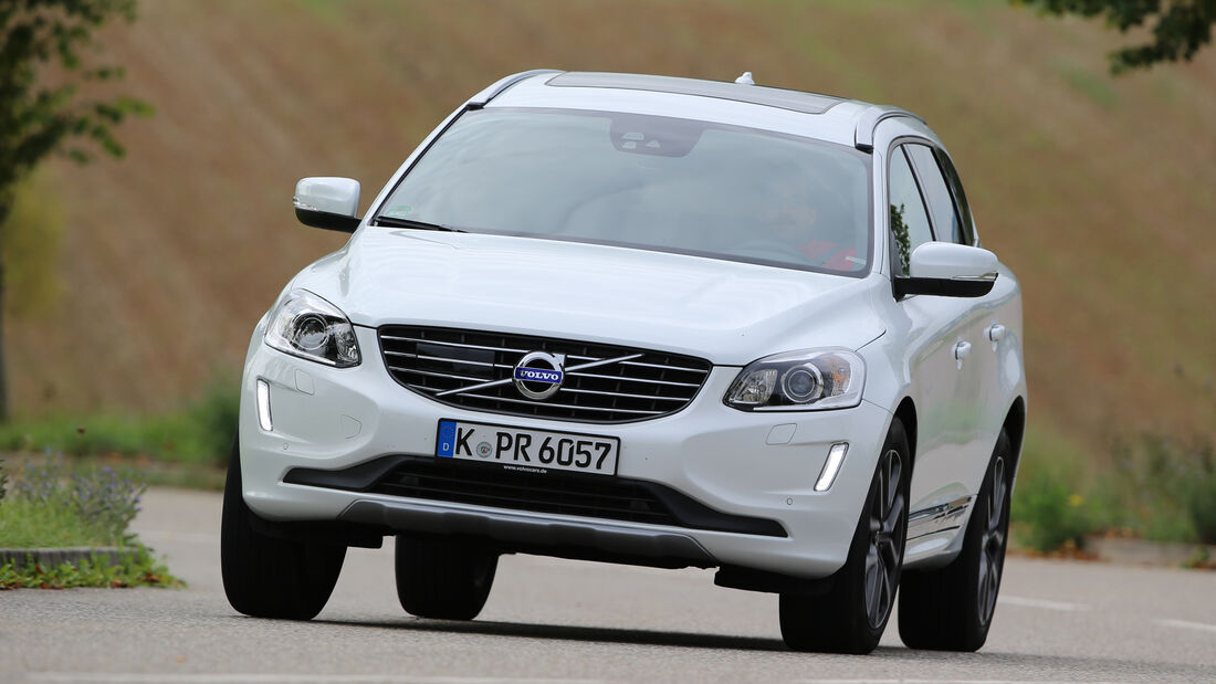 Volvo XC60 D5 AWD, Frontansicht