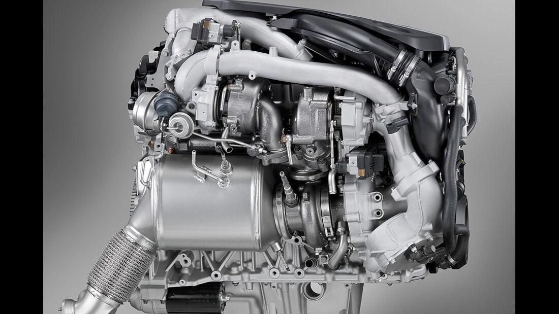 01/2012, BMW M 550d xDrive, Motor