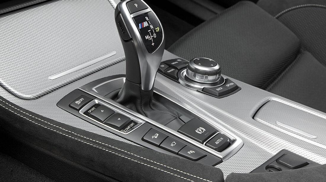 01/2012, BMW M 550d xDrive, Schaltung, Wählhebel