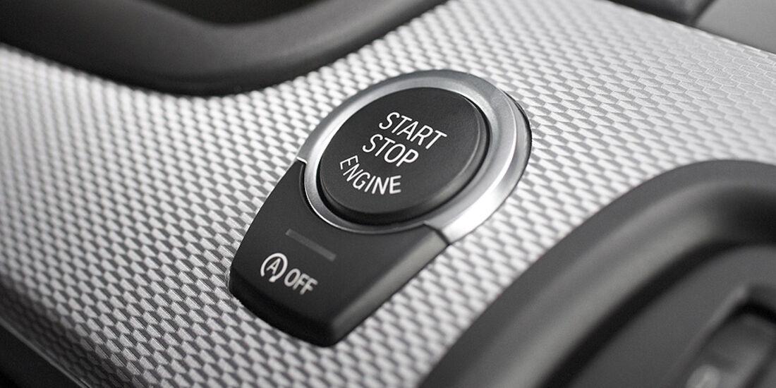 01/2012, BMW M 550d xDrive, Startknopf