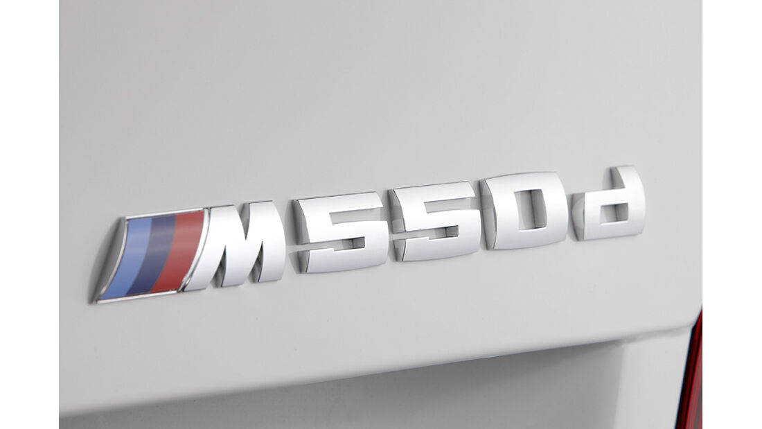 01/2012, BMW M 550d xDrive, Typenbezeichnung