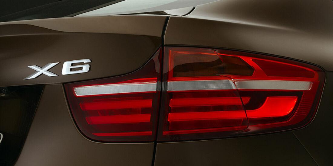 01/2012, BMW X6 2012 Facelift, Rücklicht