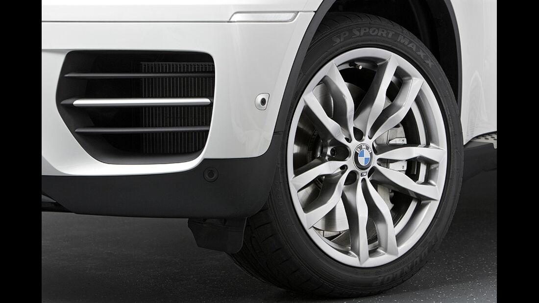 01/2012, BMW X6 M50d, Felge