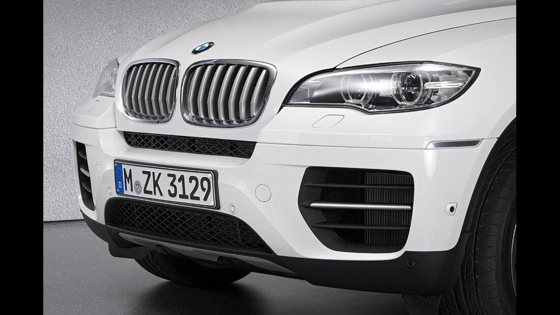 01/2012, BMW X6 M50d, Frontschürze