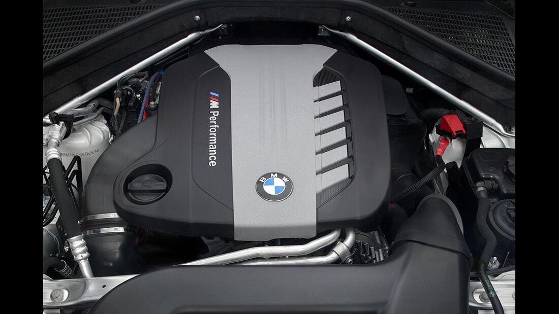 01/2012, BMW X6 M50d, Motor