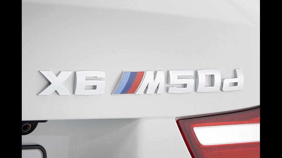 01/2012, BMW X6 M50d, typenschild