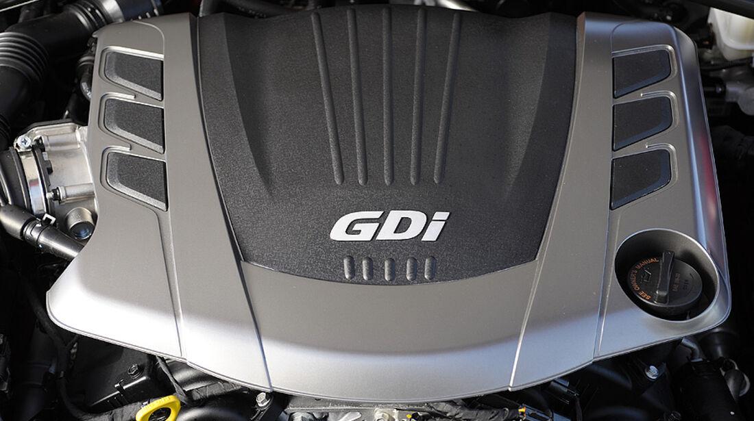 01/2012, Hyundai Genesis Coupé 2012, Detroit. Motor