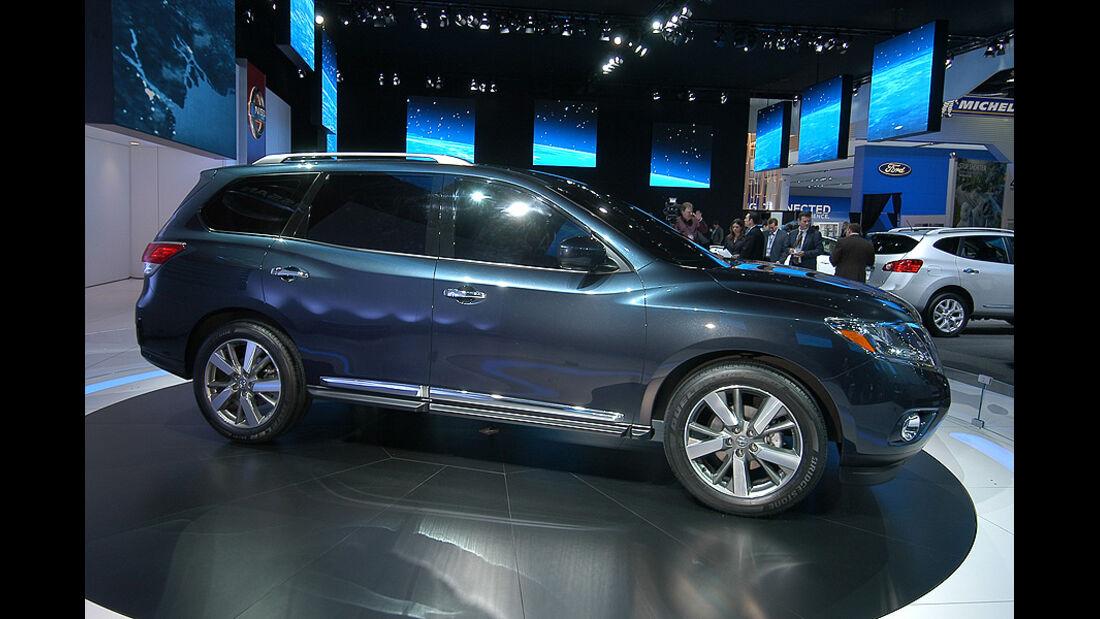 01/2012, Nissan Pathfinder Concept, Detroit