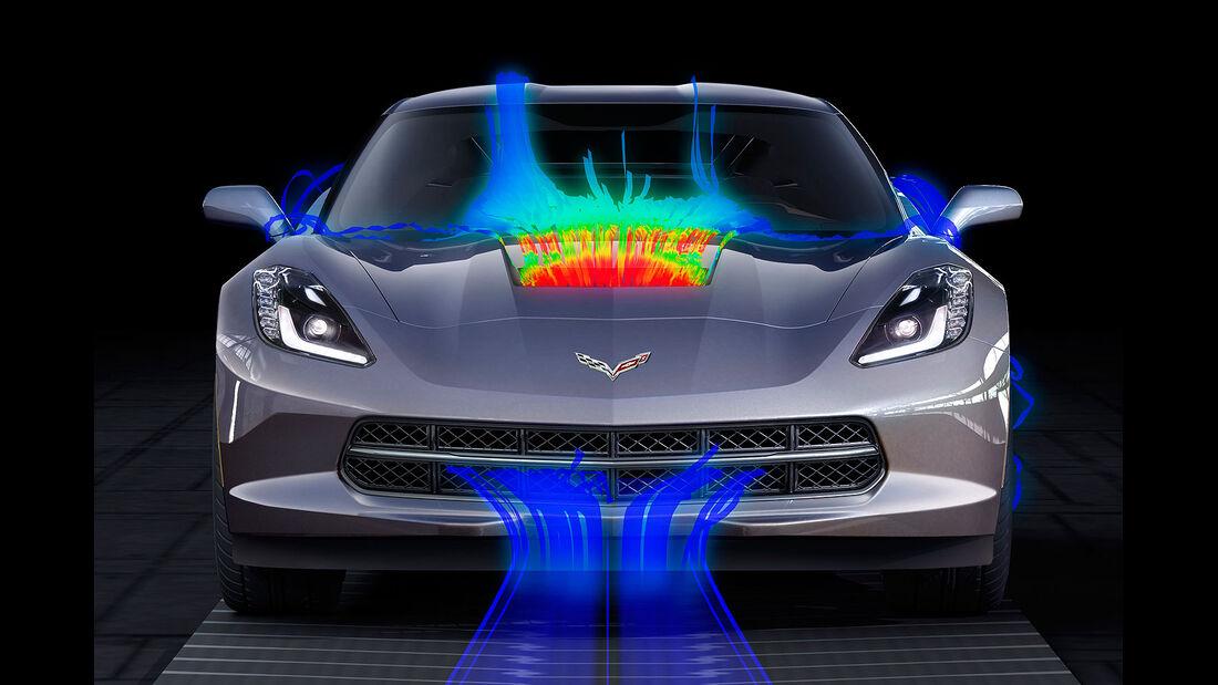 01/2013 Chevrolet Corvette, Aerodynamik