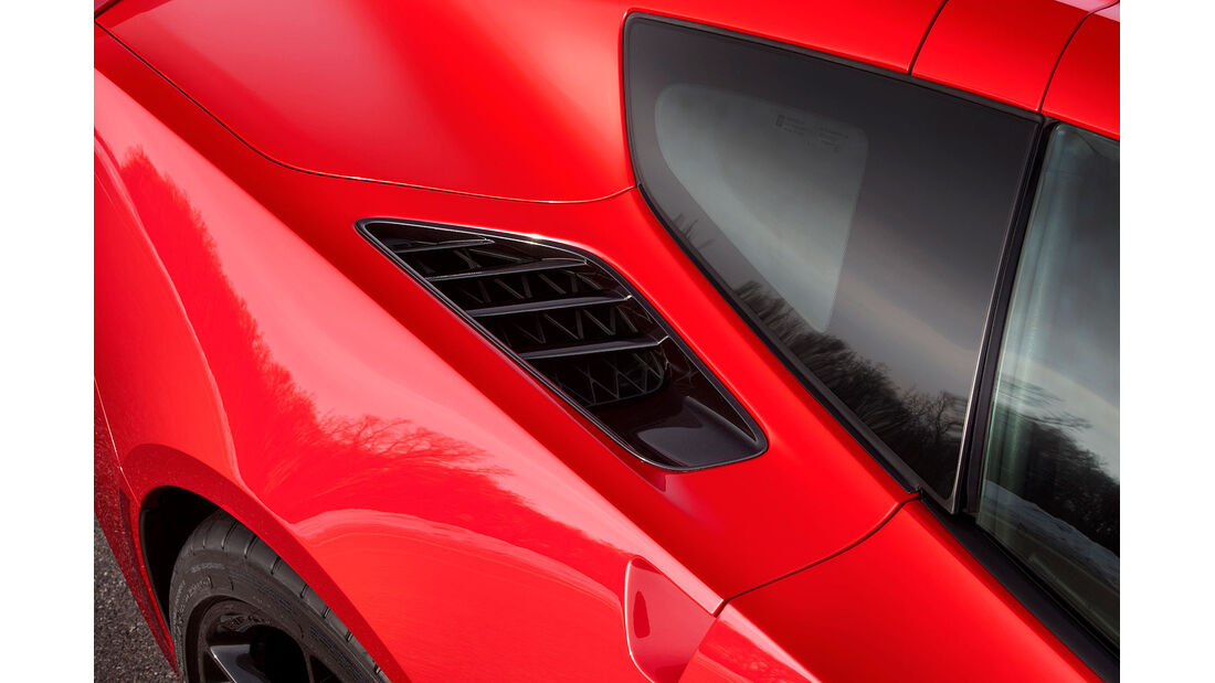 01/2013 Chevrolet Corvette, Belüftung Hinterrad