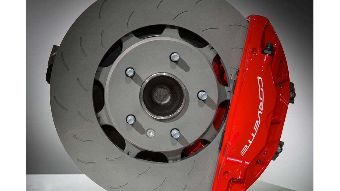 01/2013 Chevrolet Corvette, Bremse