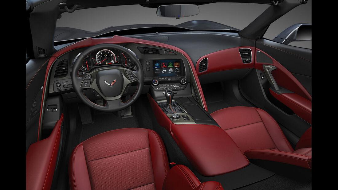 01/2013 Chevrolet Corvette, Innenraum