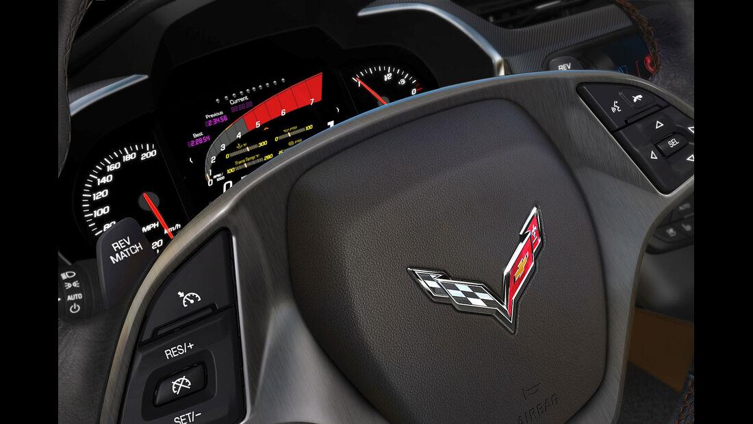 01/2013 Chevrolet Corvette, Instrumente